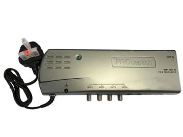 PROAMP24R 4 WAY AMPLIFIER WITH RETURN PATH